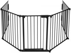 tectake Kaminschutzgitter Gesamtlänge ca. 300cm 5 Elemente