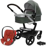 Joolz 'Day+' Kombikinderwagen Marvellous Greeninkl. Cybex Cloud Z Plus Babyschale Autumn Gold