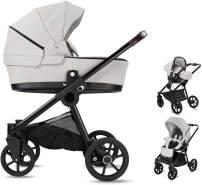 Minigo Groove | 3 in 1 Kombi Kinderwagen | Luftreifen | Farbe: Light Grey