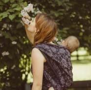 Didymos Babytragetuch Dahlia Lin Gr. 7
