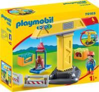 Playmobil 1.2.3 70165 'Baukran', 8 Teile, ab 1,5 Jahren