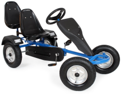 TecTake - 2 Sitzer Go-Kart/Tretauto blau
