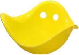 Ausgefallenes Spielzeug Bilibo für drinnen, draussen, Sandkasten, Wasser, Schnee, in 6 Farben, von moluk gelb