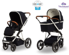 Moon 'Style' Kombi-Kinderwagen Kollektion 2020, navy