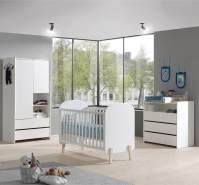 Vipack 'Kiddy' 3-tlg. Babyzimmer-Set