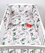 Babylux 'Wilde Blüten' Kinderbettwäsche 40x60/100x135 cm