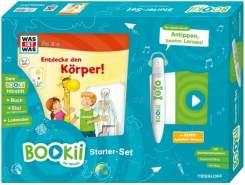 BOOKii® Starter-Set - WAS IST WAS Junior Entdecke den Körper!