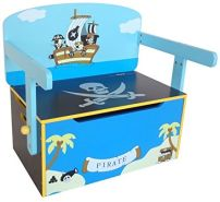 Bebe Style verwandelbare Spielzeugkiste blau