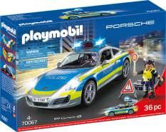 Playmobil City Action 70067 'Porsche 911 Carrera 4S Polizei', 36 Teile, ab 4 Jahren