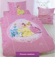 CTI Princessinnenbettwäsche. 160x200 + 70x80 cm