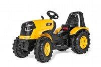 Rolly Toys Trettraktor rollyX-Trac Premium CAT (für Kinder von 3-10 Jahre, Flüsterreifen, Sitzverstellung) 640096