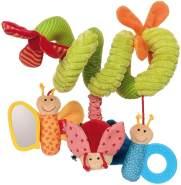 sigikid, Mädchen und Jungen, Aktiv-Spirale Schmetterling, Newborn Activity, Mehrfarbig, 42249