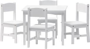 IB Style 'Enzo' 5-tlg. Kindersitzgruppe weiß