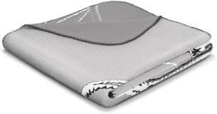 biederlack Chill Zeit Trend Decke/Überwurf, Baumwoll-Mischgewebe, Ziel, 150x 200cm