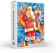 Picmondoo - Diamond Painting Der Weihnachtsmann ist da 40x60cm