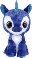 LUMO STARS 55618 Velvet Tiere Plüschtiere (Spielzeug, Blau, Weiß, Plüsch, 3 Jahre) Einhorn, Jungen/Mädchen, Multiclore