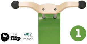 Wishbone Mini-Flip Top Mix und Match Green