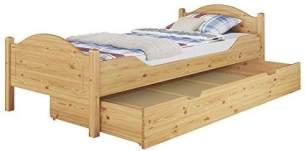 Erst-Holz Einzelbett Kiefer natur 90x200