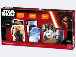 ASS Altenburger Spielkarten - Star Wars - 3-in-1 Spielebox