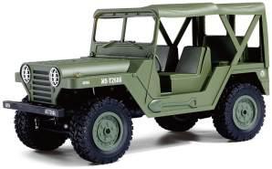 U. S. Militär Geländewagen 1:14 4WD RTR, Military grün
