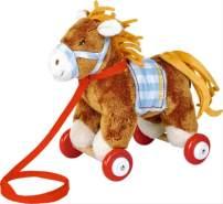 Pony Sam auf Holzrollen  Mein kleiner Po
