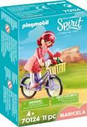 Playmobil Spirit Riding Free 70124 'Maricela mit Fahrrad', 11 Teile, ab 4 Jahren