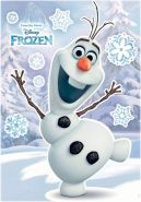 Komar Deco-Sticker Olaf