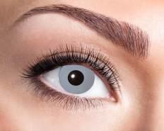 Natürlich Farbige 3 Monate Kontaktlinsen 2 Stück Vampire Grey