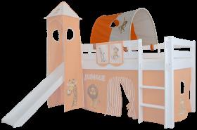 Mobi Furniture Tunnel Dschungel für Hochbett