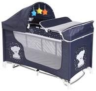Lorelli 10080421832 Kinderbett, zusammenklappbar, Moonlight