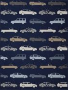Biederlack 'Lovely & Sweet Freeway' Babydecke Größe 75x100 cm