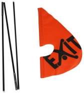 EXIT - Gokart Sicherheits-Flagge 23.96.50.00 Gokart Zubehör
