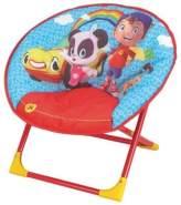 Stuhl 54 x 45 x 47 cm rot/blau