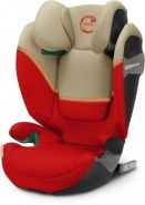 Cybex 'Solution S i-Fix' Autokindersitz 2021 Autumn Gold, von 15-36kg (Gruppe 2/3)