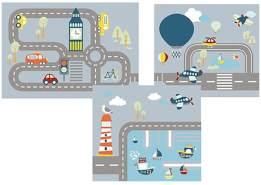 FLEXA 'Transportation' Vorhang für Halbhochbett 83-20235