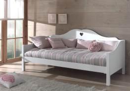 Vipack 'Amori' Sofabett 90x200 cm, weiß