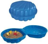 BIG 7711001 'Sand- und Wassermuschel' 89 x 87 x 23 cm, ab 1,5 Jahren, Füllmenge 100 l / kg, blau