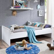 Relita Einzelbett HELSINKI-13 90x200 MDF weiß lackiert