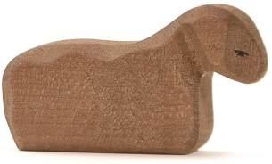 Ostheimer Figur Lamm liegend braun