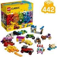 LEGO Classic 10715 'Kreativ-Bauset Fahrzeuge', 442 Teile, ab 4 Jahren, zahlreiche Baumöglichkeiten