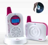 Beaba Babyphone HD, Farbe: Weiß-Rot, Reichweite 300m