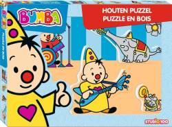 Holz Puzzle Bumba Musik 5 Stück