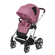 CYBEX Gold 'TALOS S LUX' Buggy 2021 Silver/Magnolia Pink