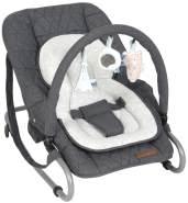 Little Dutch Babywippe luxe grau blau