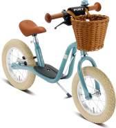 Puky LR XL Laufrad Classic mit Luftbereifung, Bremse, Glocke und Lenkerkorb pastell-blau