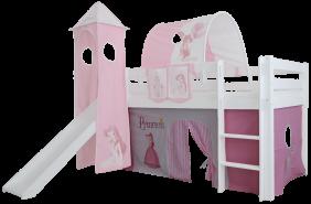 Mobi Furniture 3tlg. Vorhang Set Princess für Hochbett