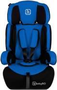 BabyGO 'Motion' Autositz in Blau, 9 bis 36 kg (Gruppe 1/2/3)