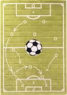 Cilek FOOTBALL Teppich Kinderteppich Teppichboden 133x190 cm grün