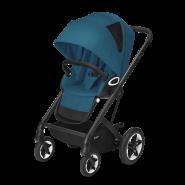 CYBEX Gold 'TALOS S LUX BLK' Buggy 2021 Black/River Blue