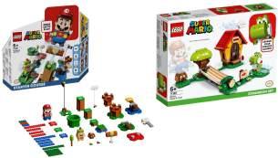 LEGO® Super Mario 2er Set: 71360 Abenteuer mit Mario - Starterset + 71367 Marios Haus und Yoshi - Erweiterungsset